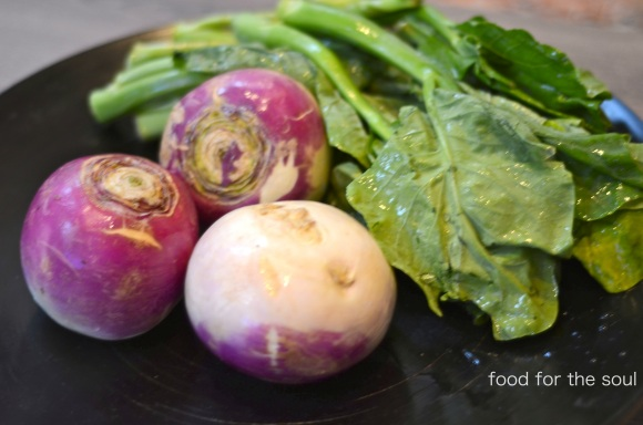 Turnips and Greens
