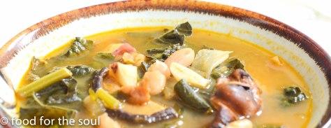 Kale and mushrrom soup2-2