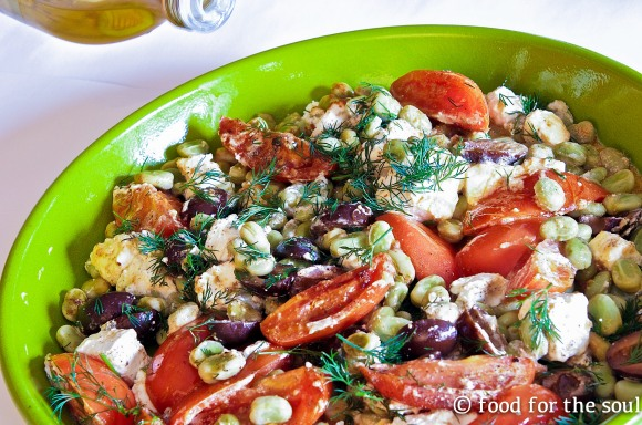 Fava Beans with Roasted Tomatoes2