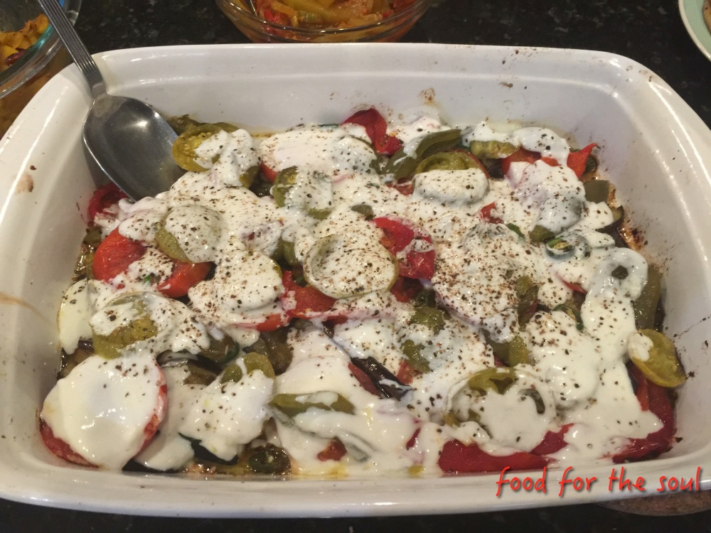 Burani - Eggplant in Yoghurt Sauce