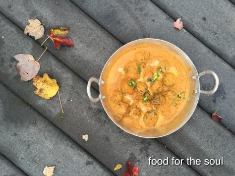 Tofu and Lauki in Cashew Curry