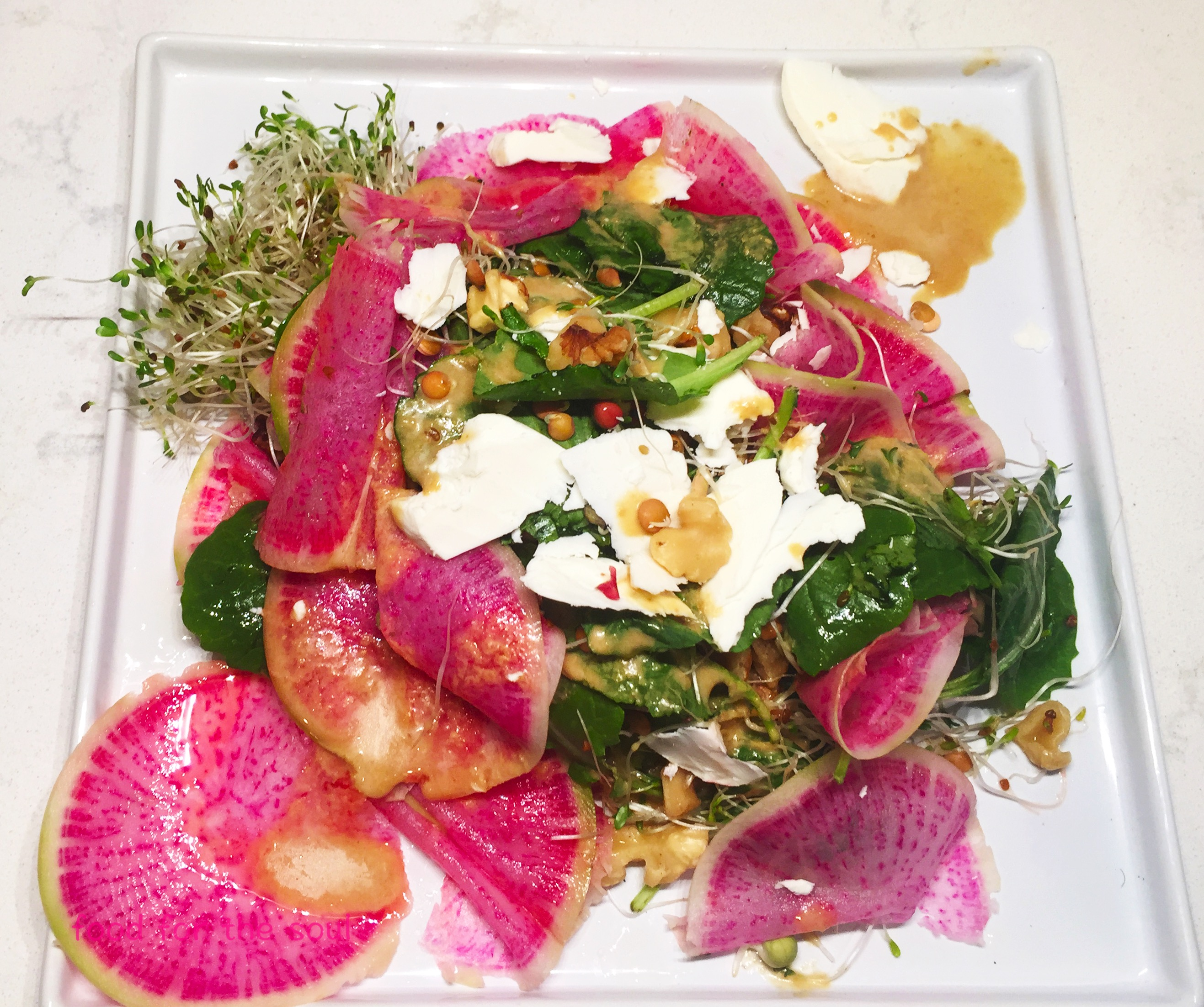 Watermelon Radish Salad6-1