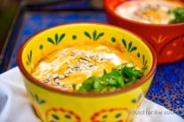 Thai Curried butternut squash soup